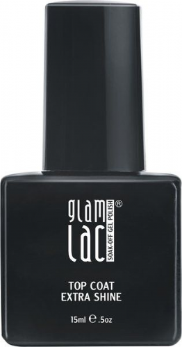 GlamLac Extra Shine Top Coat 15ml